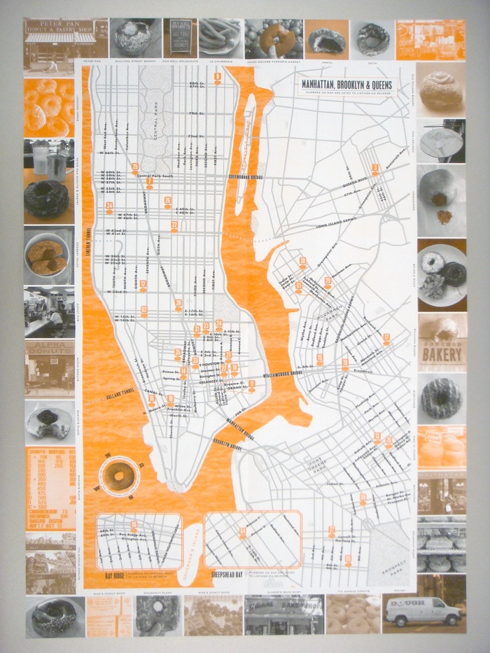 New York Doughnut Map 6