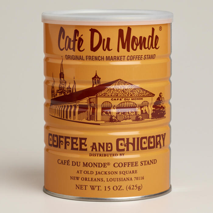 Café Du Monde beignet mix and coffee packaging 1