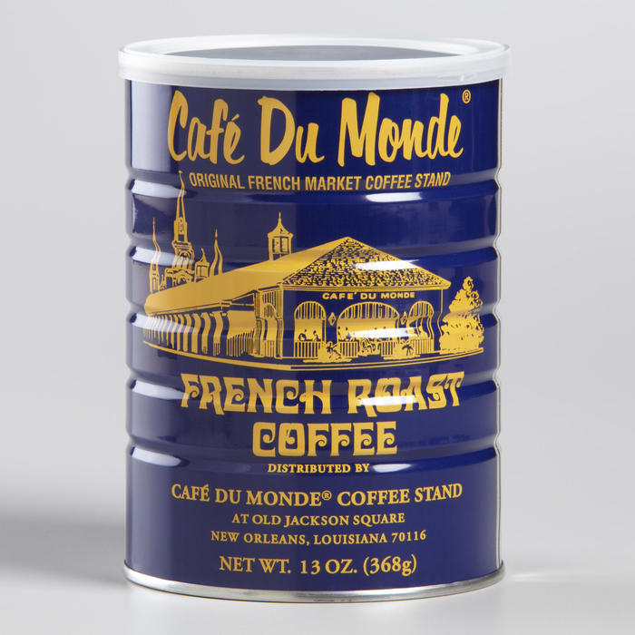 Café Du Monde beignet mix and coffee packaging 2