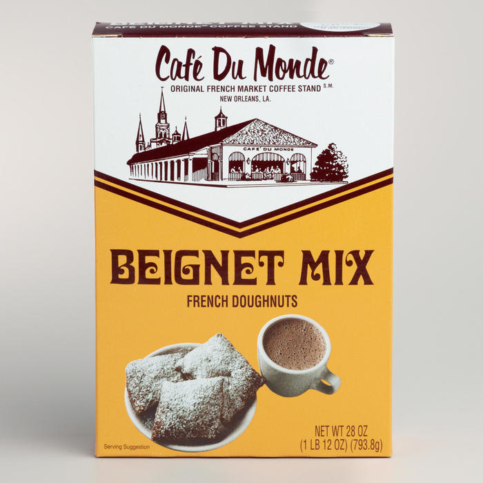 Café Du Monde beignet mix and coffee packaging 4