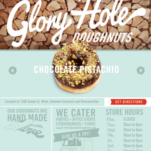 Glory Hole Donuts