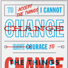 <cite>Change the things I can</cite>