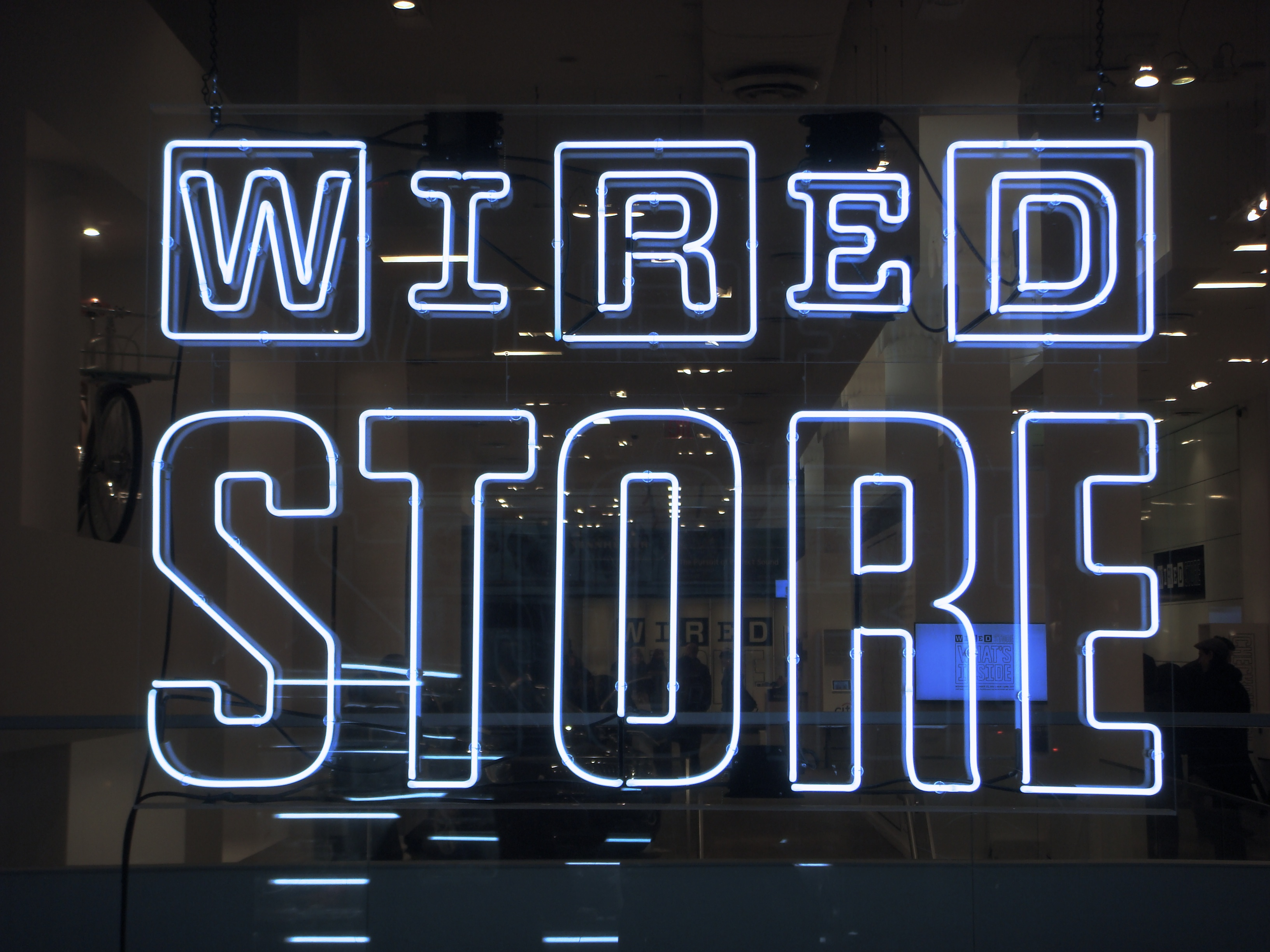 Wired holiday pop-up store 2012 - Fonts In Use