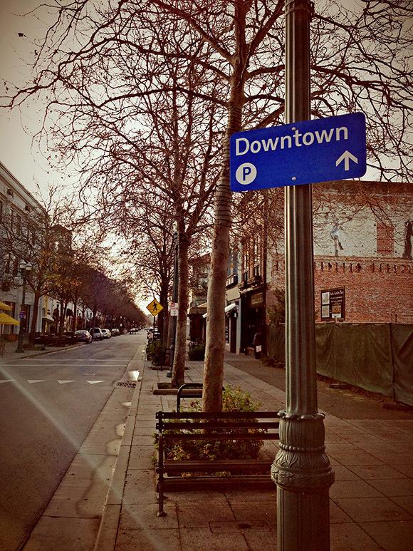 The City of Santa Cruz wayfinding signs 5