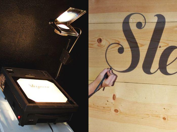 DIY light up headboard 1