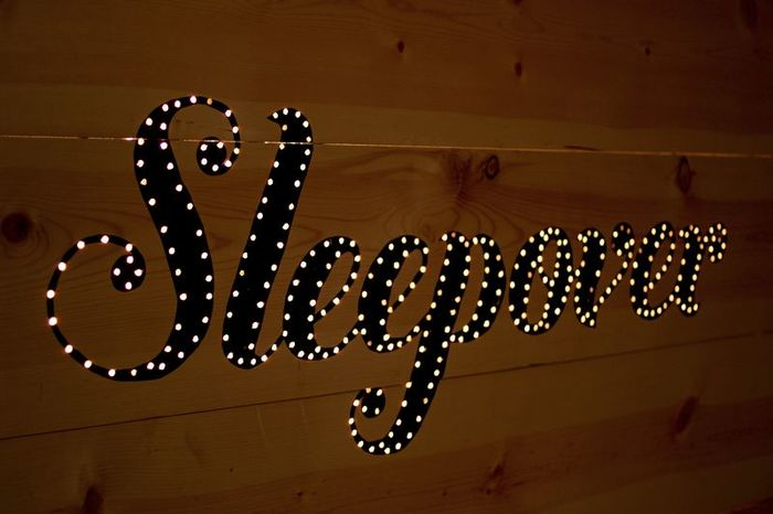 DIY light up headboard 7