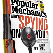 <cite>Popular Mechanics</cite> Jan 2013 Cover