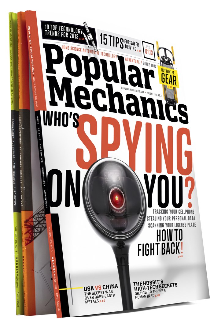 Popular Mechanics Jan 2013 Cover