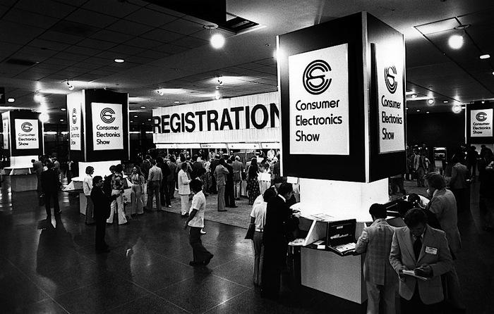1977 Consumer Electronics Show branding
