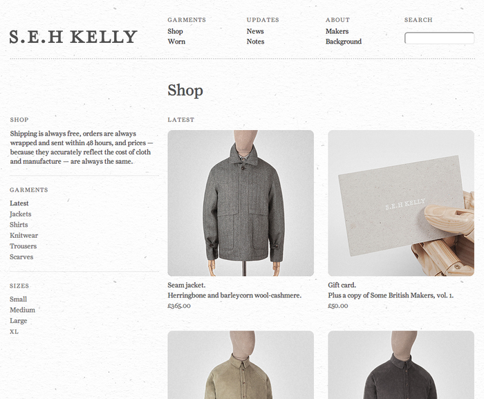 S.E.H Kelly Clothes 5