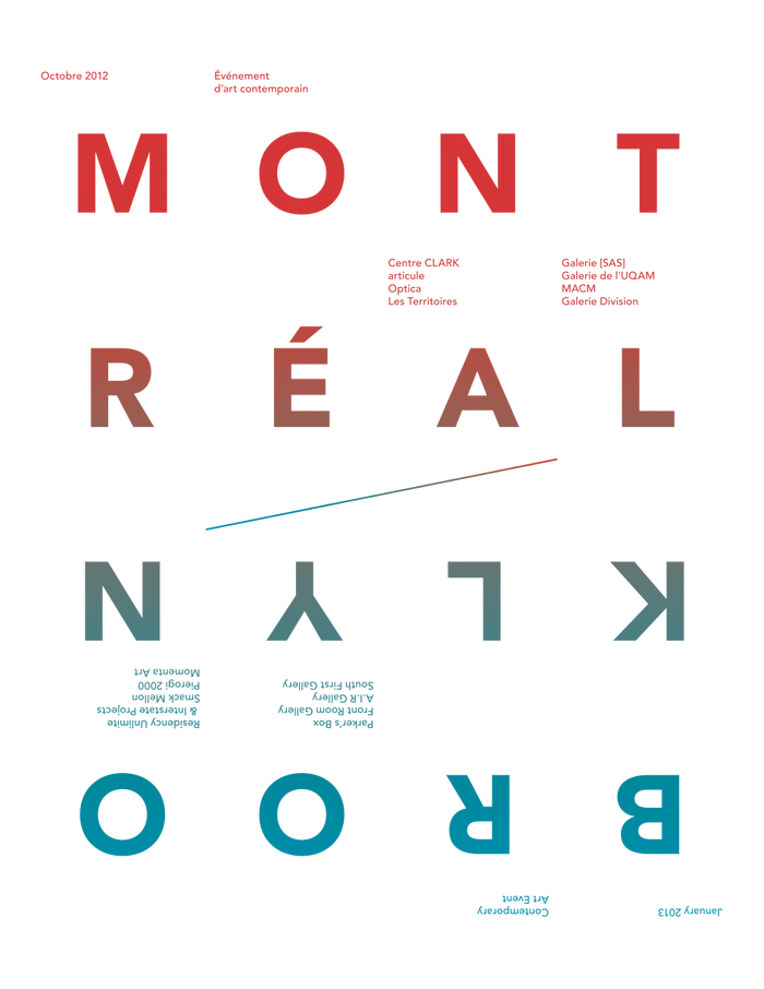 Brooklyn/Montreal Art Event
