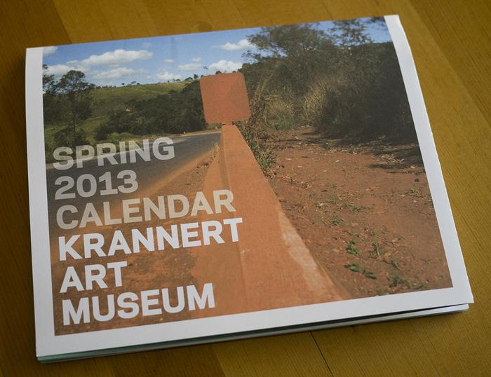 Krannert Art Museum Spring 2013 Calendar 1