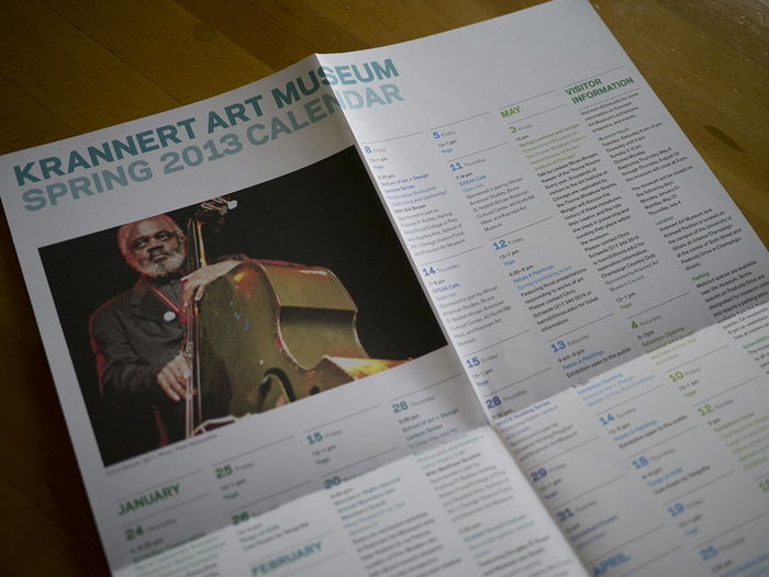 Krannert Art Museum Spring 2013 Calendar 4