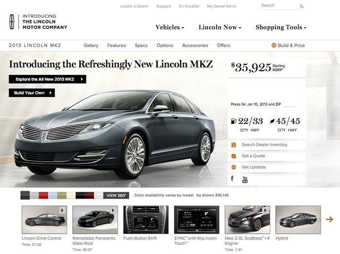 Lincoln Motor Company 2