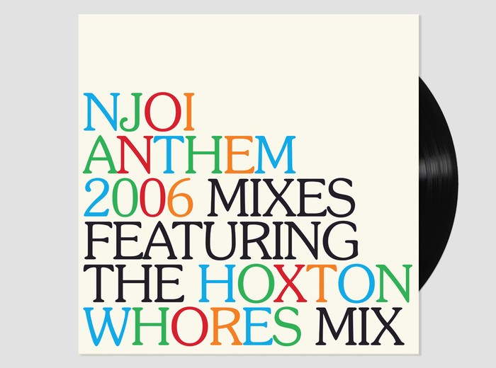 N-Joi Anthem (2006 mixes) album art 1
