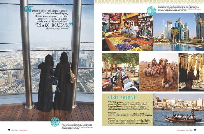 "Sky magazine: ""All That Glitters in Dubai"" 3"