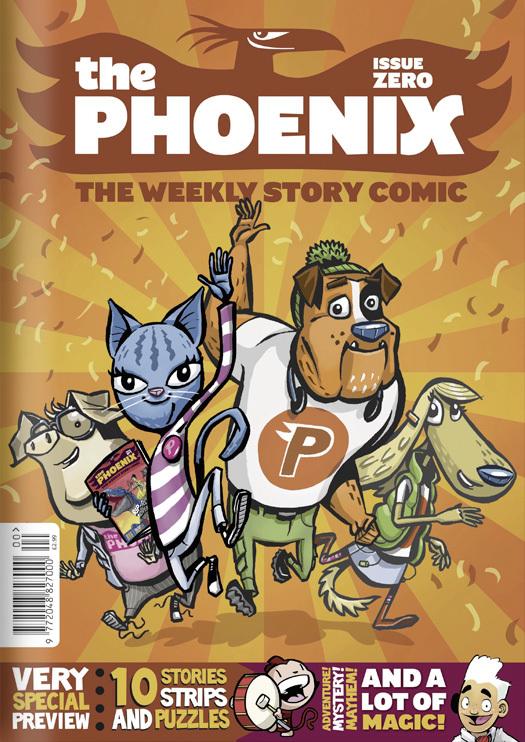 The Phoenix Comic 3