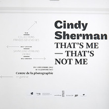 Cindy Sherman <cite>That's me — That's not me</cite>