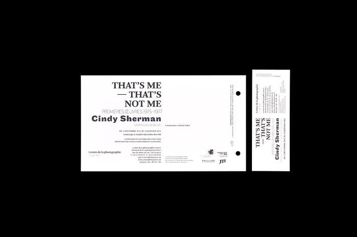 Cindy Sherman That's me — That's not me 4