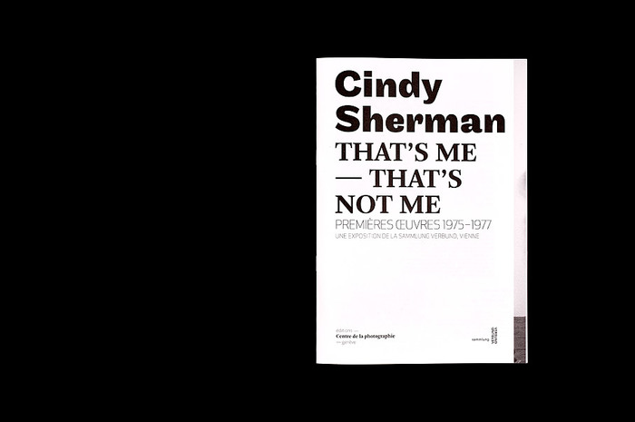 Cindy Sherman That's me — That's not me 5