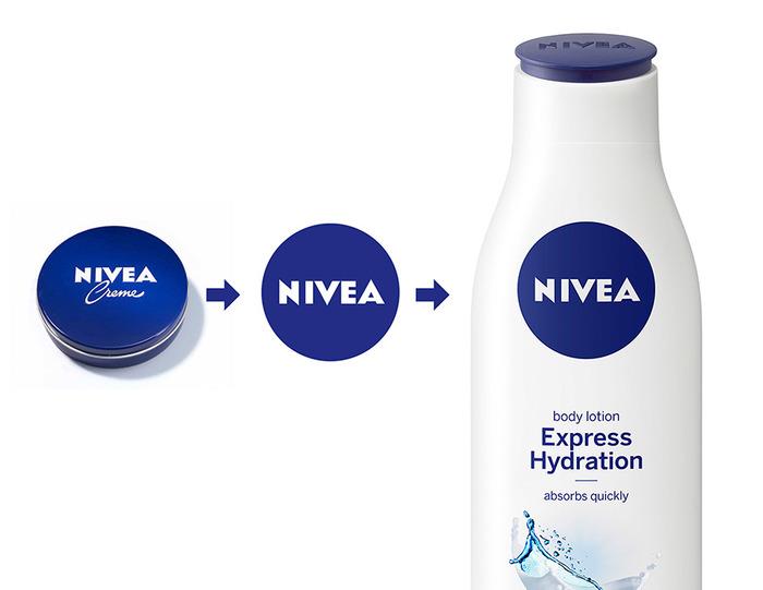 Nivea visual identity redesign (2012) 2