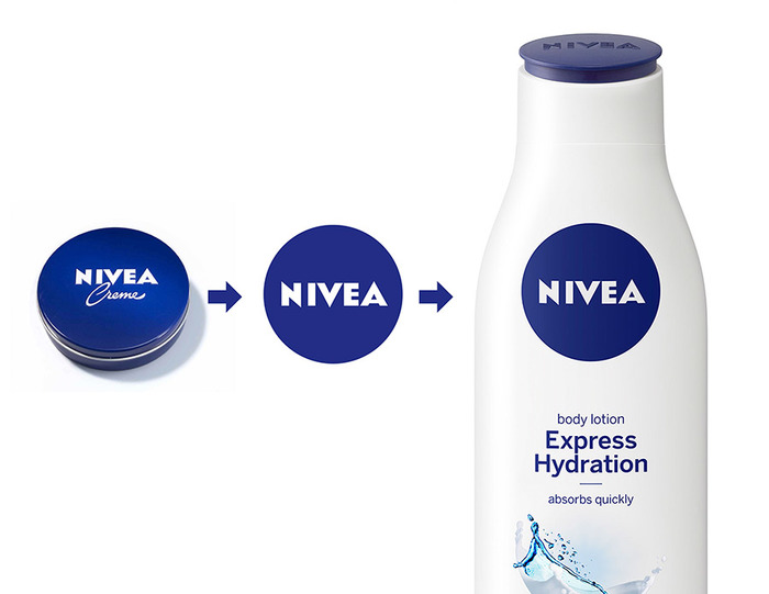 Nivea Redesigned Identity and Packaging 2