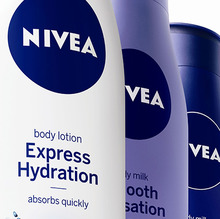 Nivea visual identity redesign (2012)