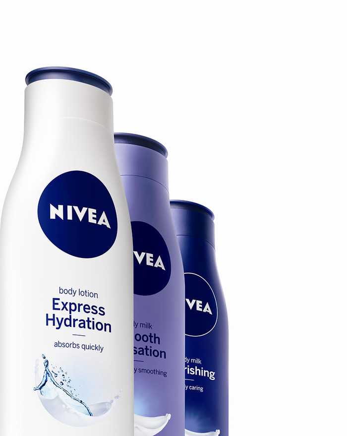Nivea Redesigned Identity and Packaging 3