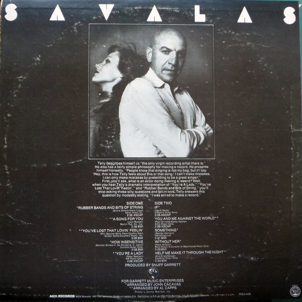 Telly by Telly Savalas 2
