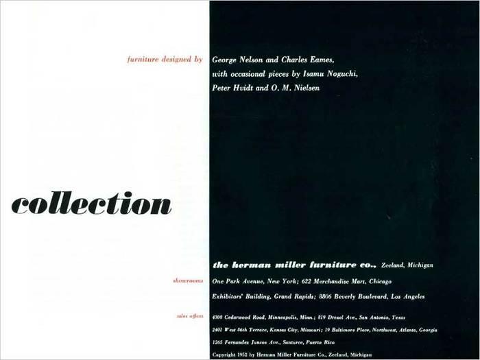 Herman Miller 1952 Catalog 4
