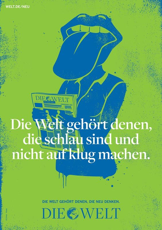 Die Welt poster campaign 1