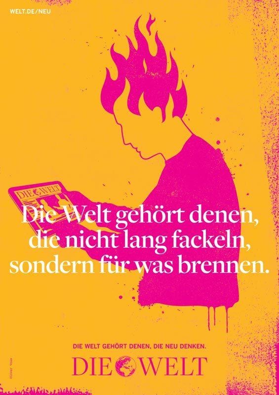 Die Welt poster campaign 2