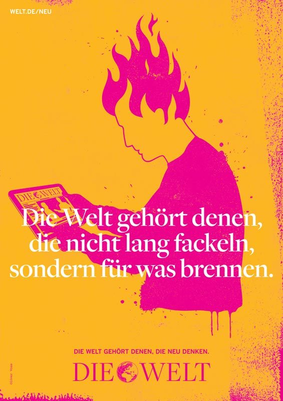 Die Welt poster campaign 2