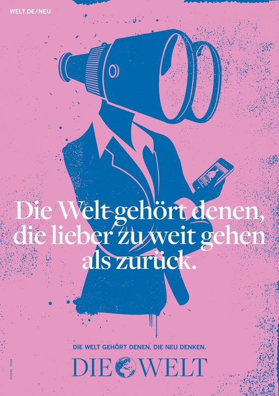 Die Welt poster campaign 3