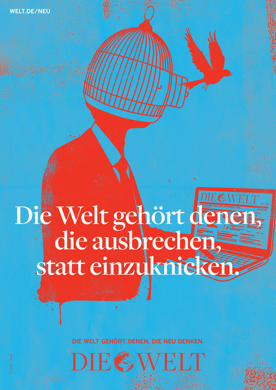 Die Welt poster campaign 4