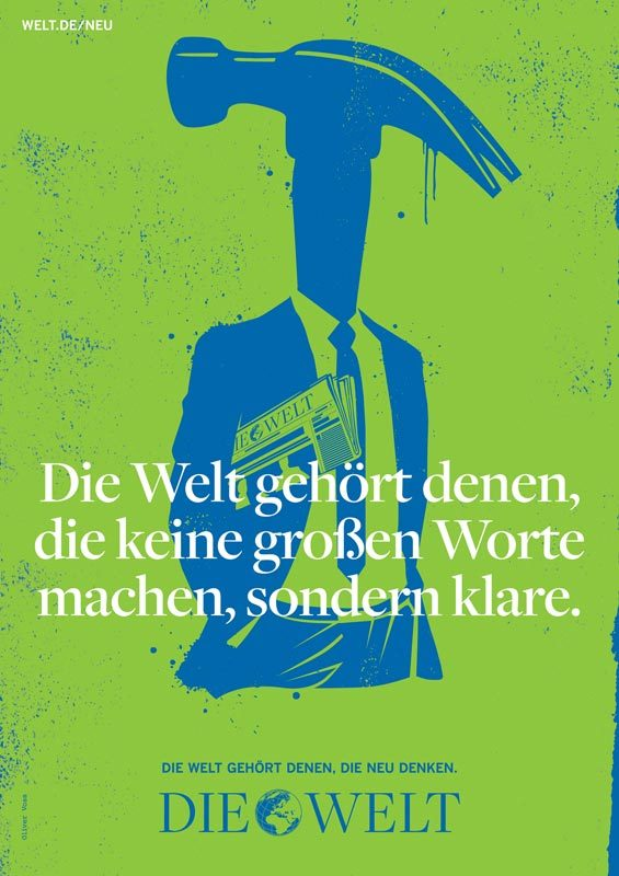Die Welt poster campaign 6