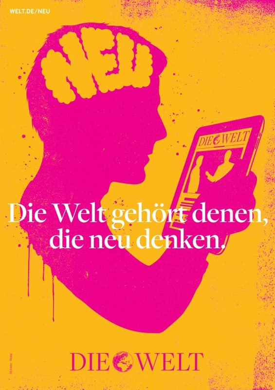 Die Welt poster campaign 5