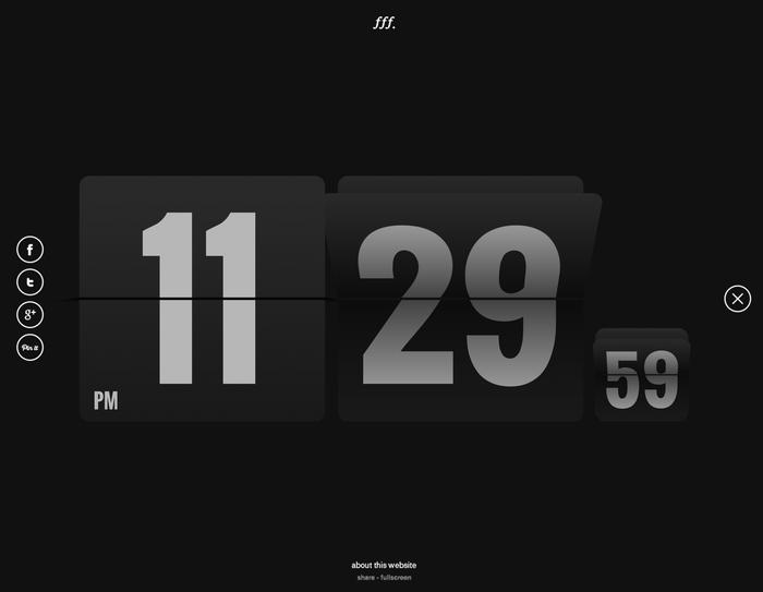 Form Follows Function – flip clock 1