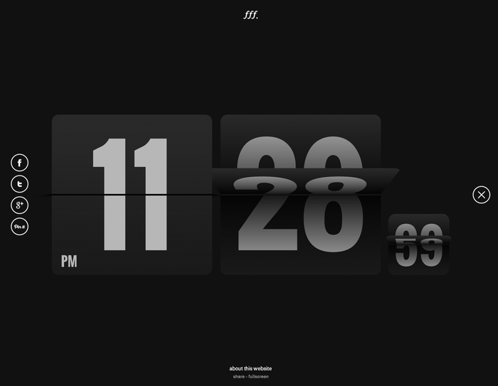 Form Follows Function – Flip Clock 2