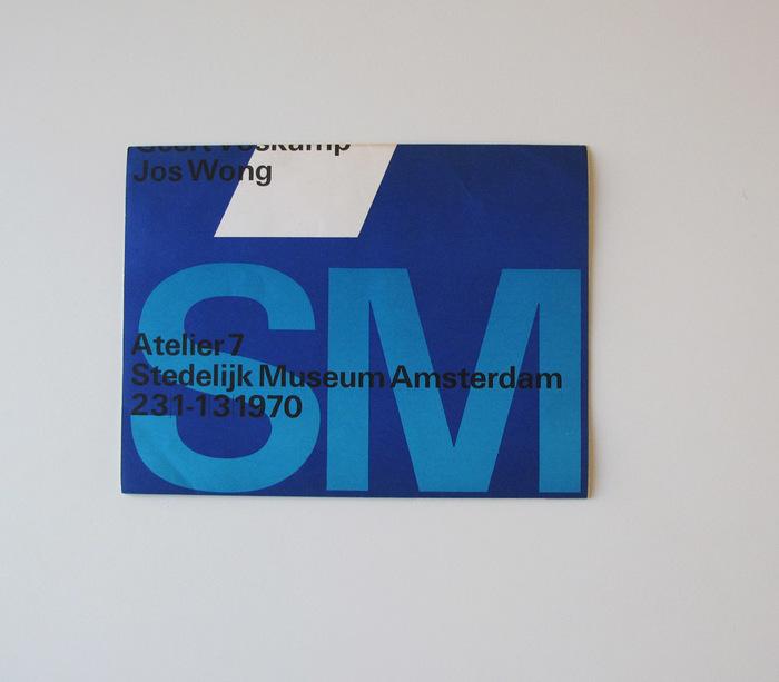 Atelier 7 Brochure for Stedelijk Museum 1