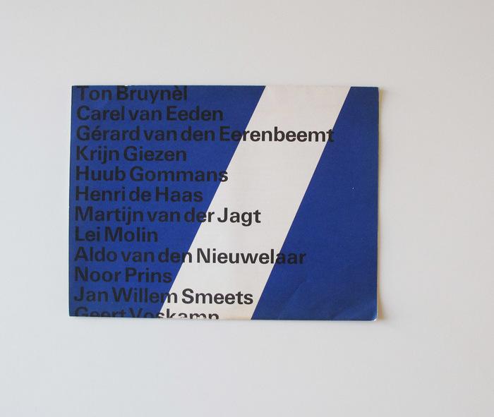 Atelier 7 Brochure for Stedelijk Museum 2