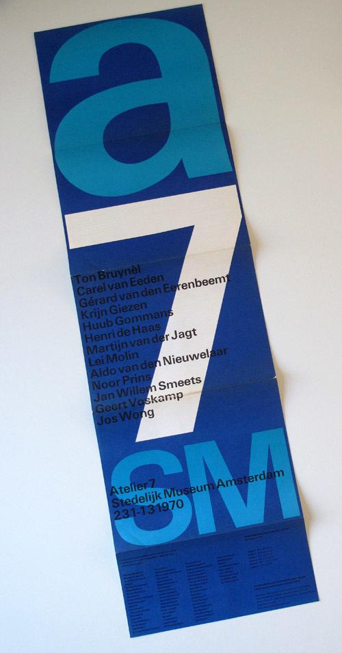 Atelier 7 Brochure for Stedelijk Museum 3