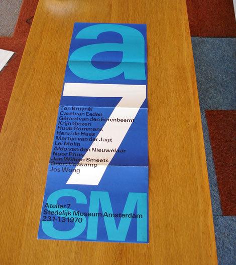 Atelier 7 Brochure for Stedelijk Museum 4