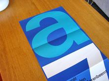 <cite>Atelier 7</cite> Brochure for Stedelijk Museum