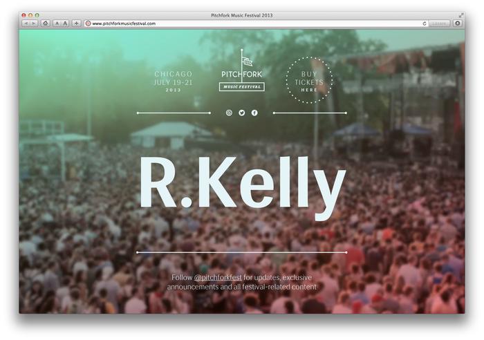 Pitchfork Music Festival, 2013 (Announcement) 3