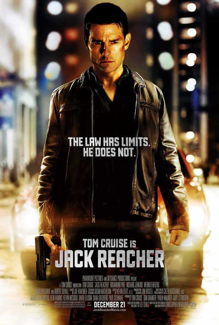Jack Reacher Movie Posters 1