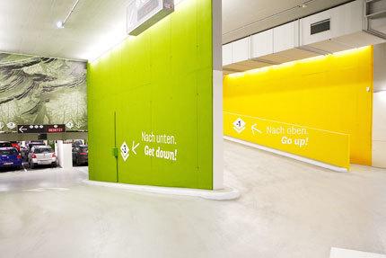Vienna Businesspark Parking Garage 3