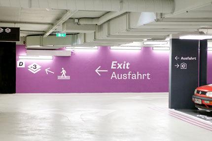 Vienna Businesspark Parking Garage 6