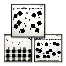<cite>Percussion</cite> series album art (Command Records)