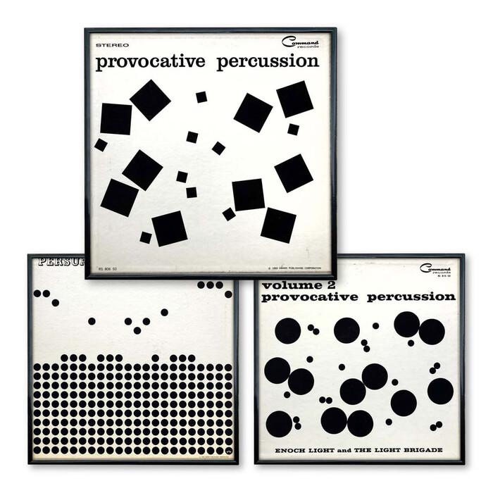 Percussion series album art (Command Records) 1